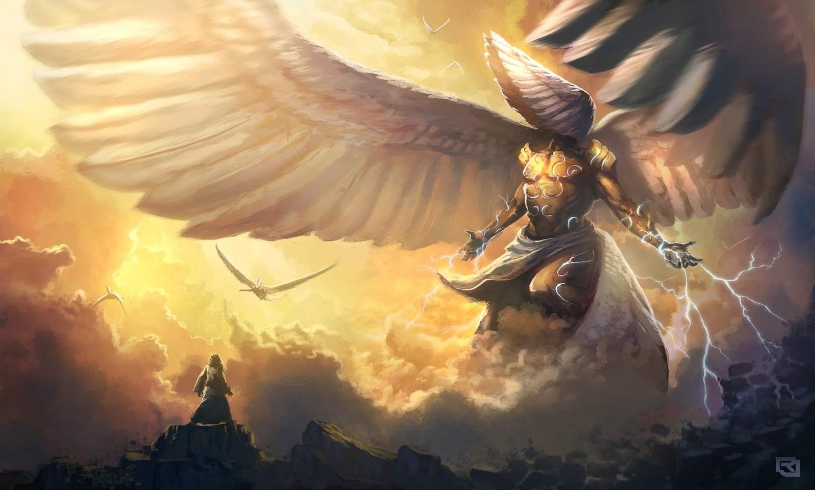 Die heilige engele (Deel 3)