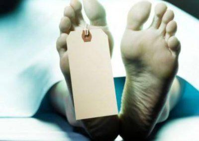 Die oorgangstaat tussen lewe en dood
