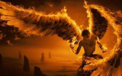 Die oordeel van Satan en gevalle engele