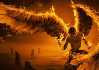 Oordeel van Satan en gevalle engele