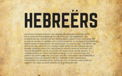 Hebreërs