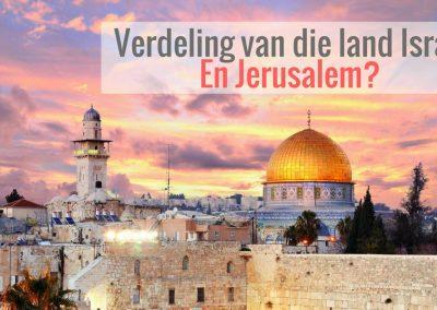 Die almagtige God sê dat Hy Jerusalem 'n beker van bedwelming sal maak vir al die volke rondom, 'n baie swaar klip vir al die volke.