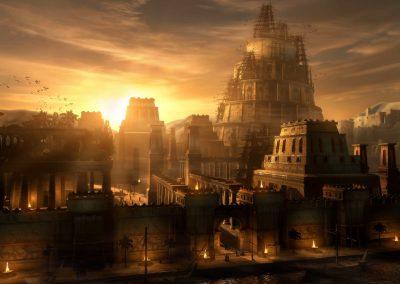 Maar die groot Babilon sal heeltemal verwoes word; haar boumateriaal sal nooit weer gebruik word nie