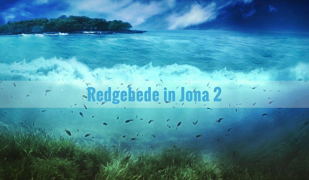 Redgebede in Jona 2