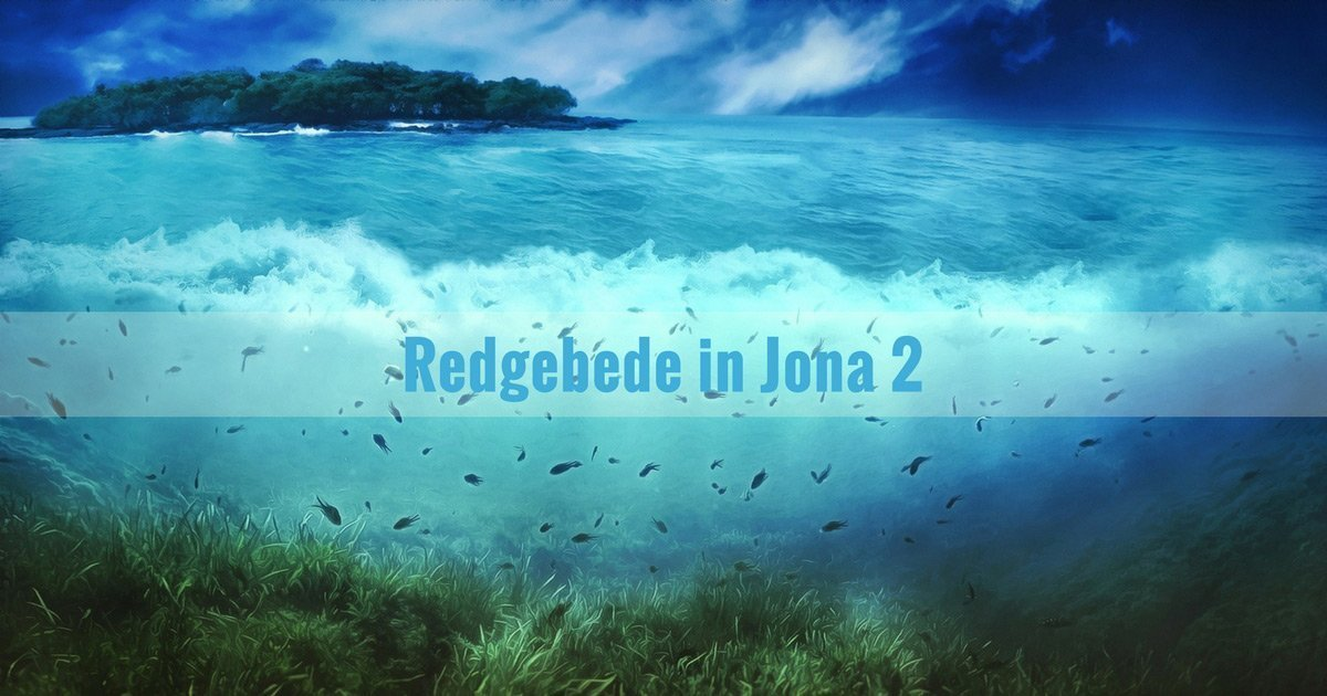 Redgebede in Jona 2