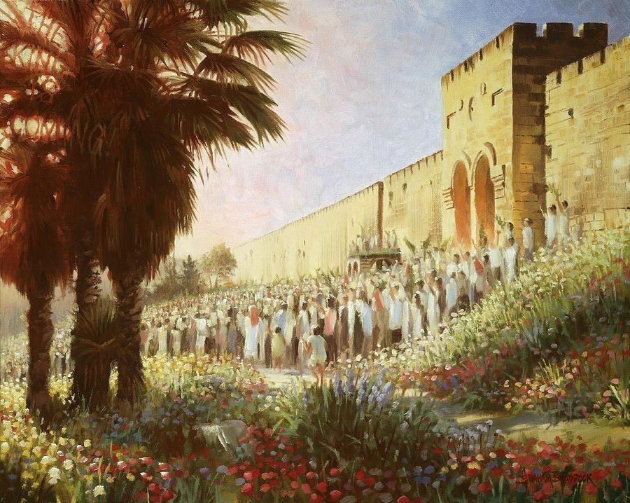 Christus is 2 000 jaar gelede deur die Heilige Gees as koning gesalf, maar Jesus is nog nie as koning ingehuldig nie en hy regeer nog nie as Dawidiese koning nie. Dit sal eers gebeur as 'n toekomstige Joodse generasie Jesus as die Messias aanroep (Hs 5:15-6:3; Sag 12:10; Mat 23:39). Wanneer hierdie Joodse generasie dit doen, sal Christus na die aarde terugkeer, op die troon van Dawid sit en in die stad van die groot Koning regeer (vgl. Mat 5:35; 19:28; 25:31, 34).